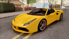 Ferrari 488 Spider 2016 for GTA San Andreas