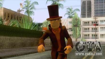 Prof Hershel Layton Skin for GTA San Andreas