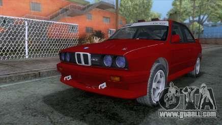 BMW M3 E30 1986 v2 for GTA San Andreas