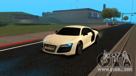 Audi R8 V10 Armenian for GTA San Andreas