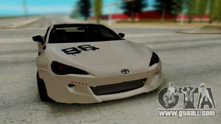 Toyota GT86 TRD for GTA San Andreas