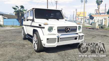 Mercedes-Benz G 65 AMG (W463) v1.1 [replace] for GTA 5