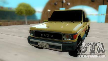 Toyota Land Cruiser Pickup for GTA San Andreas