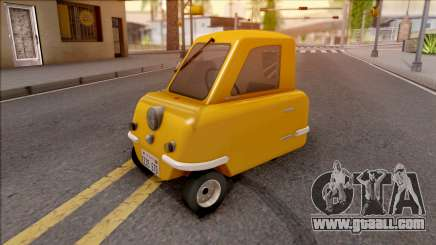 Peel P50 2011  v1.1 for GTA San Andreas