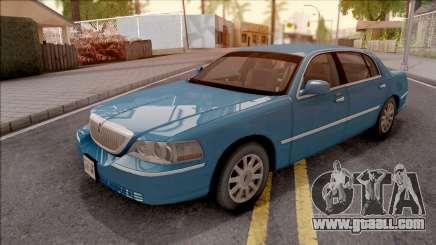 Lincoln Town Car L Signature 2010 HQLM for GTA San Andreas