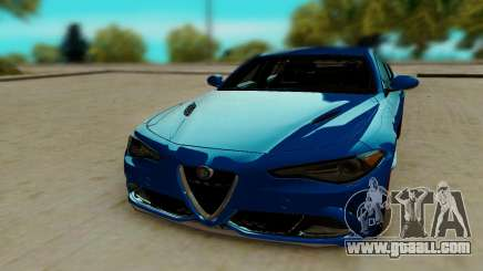 Alfa Romeo Giulia for GTA San Andreas