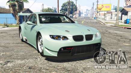 BMW M3 GT2 (E92) [replace] for GTA 5