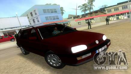 Volkswagen Golf Mk3 Variant for GTA Vice City