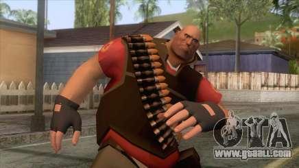 Team Fortress 2 - Heavy Skin v2 for GTA San Andreas