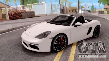 Porsche Boxter S 2017 for GTA San Andreas