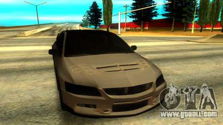 Mitsubishi Lancer Evolution 8 silver for GTA San Andreas