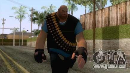 Team Fortress 2 - Heavy Skin v1 for GTA San Andreas