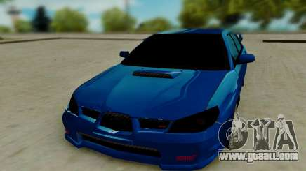 Subaru WRX STi 2005 for GTA San Andreas