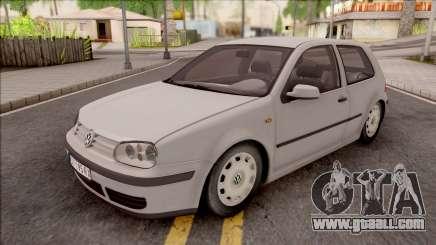 Volkswagen Golf Mk4 1999 for GTA San Andreas