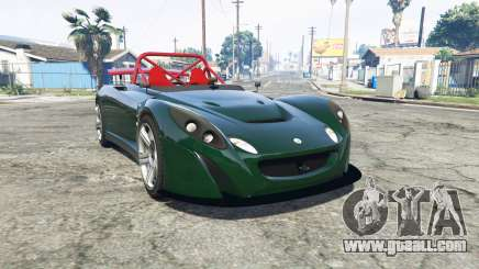 Lotus 2-Eleven 2009 [replace] for GTA 5