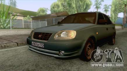 Hyundai Accent Stock for GTA San Andreas