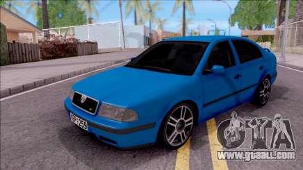 Skoda Ocatvia RS 2002 for GTA San Andreas
