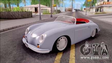Porsche 356A 1956 for GTA San Andreas