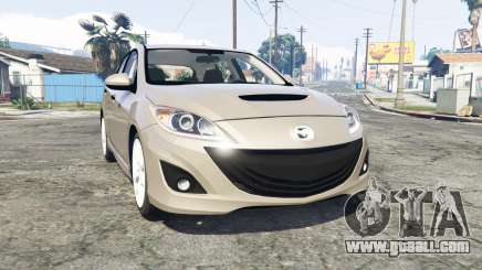 Mazdaspeed3 (BL) 2010 [replace] for GTA 5