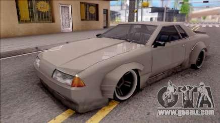 Elegy Drift Low Poly for GTA San Andreas