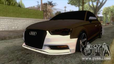 Audi A3 Sedan for GTA San Andreas