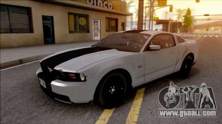 Ford Mustang GT 2010 SVT Rims for GTA San Andreas