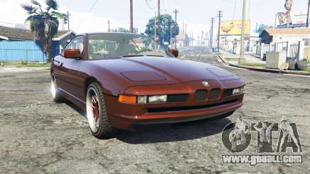 BMW 850i (E31) [replace] for GTA 5