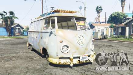 Volkswagen Typ 2 (T1) 1960 rat [replace] for GTA 5