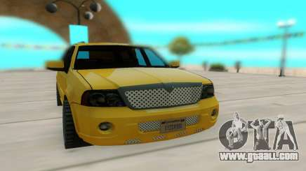Lincoln Navigator 2D Generation for GTA San Andreas