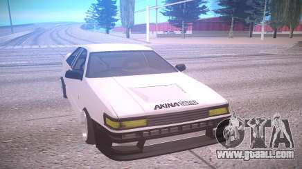 Toyota Corolla AE85 Levin for GTA San Andreas