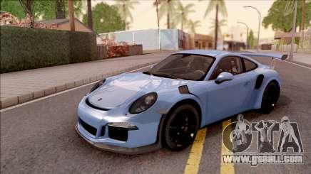 Porsche 911 GT3 RS 2016 for GTA San Andreas