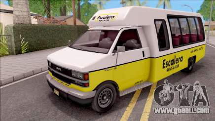 GTA V Brute Rental Shuttle Bus IVF for GTA San Andreas