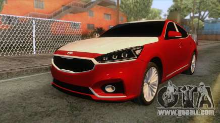Kia Cadenza 2017 for GTA San Andreas