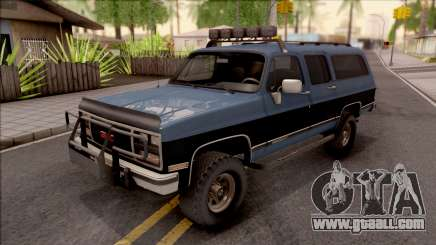 GMC Suburban 1989 HQLM for GTA San Andreas