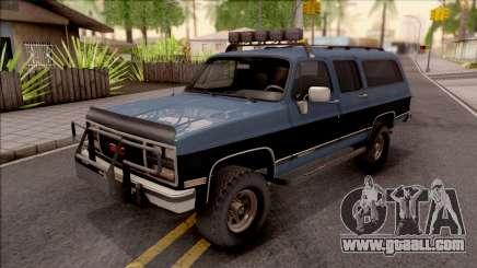 GMC Suburban 1989 HQLM for GTA San Andreas