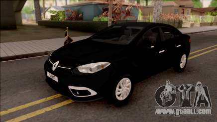 Renault Fluence Turkish Military Vehicle for GTA San Andreas