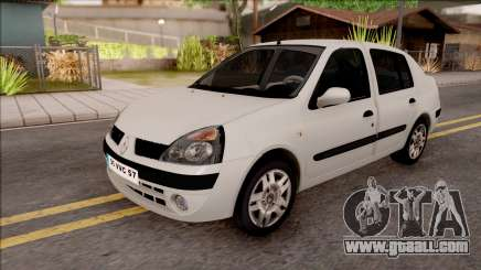 Renault Clio white for GTA San Andreas