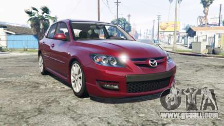 Mazdaspeed3 (BK2) 2009 [add-on] for GTA 5