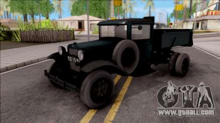The GAS-410 1940 for GTA San Andreas