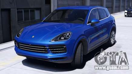 Porsche Cayenne S 2018 for GTA 5