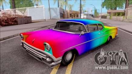 Rainbow Tornado for GTA San Andreas