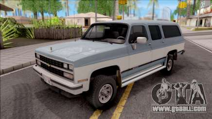 Chevrolet Suburban 1989 HQLM for GTA San Andreas