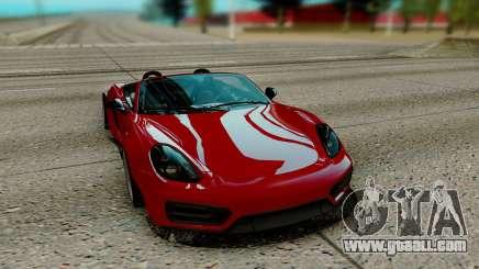 Porsche Cayman for GTA San Andreas