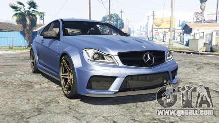 Mercedes-Benz C63 AMG (C204) 2012 v1.1 [replace] for GTA 5