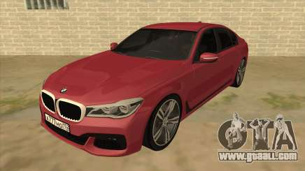 BMW 7-Series M Sport for GTA San Andreas