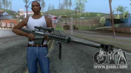 Barrett M82A1 Anti-Material Sniper Rifle v1 for GTA San Andreas