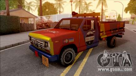 Ford F-400 Wason CSAGAZ (Gas Truck) for GTA San Andreas