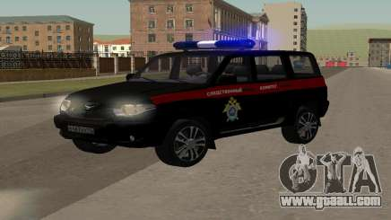 UAZ Patriot (Restyling ll) the Investigative Committee for GTA San Andreas
