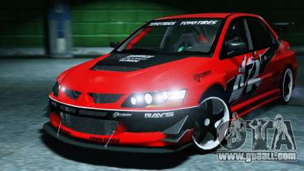 2006 Mitsubishi Lancer Evolution IX 2.0 for GTA 5
