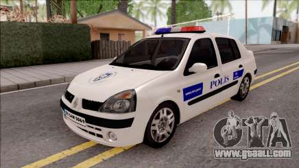 Renault Clio Polis for GTA San Andreas